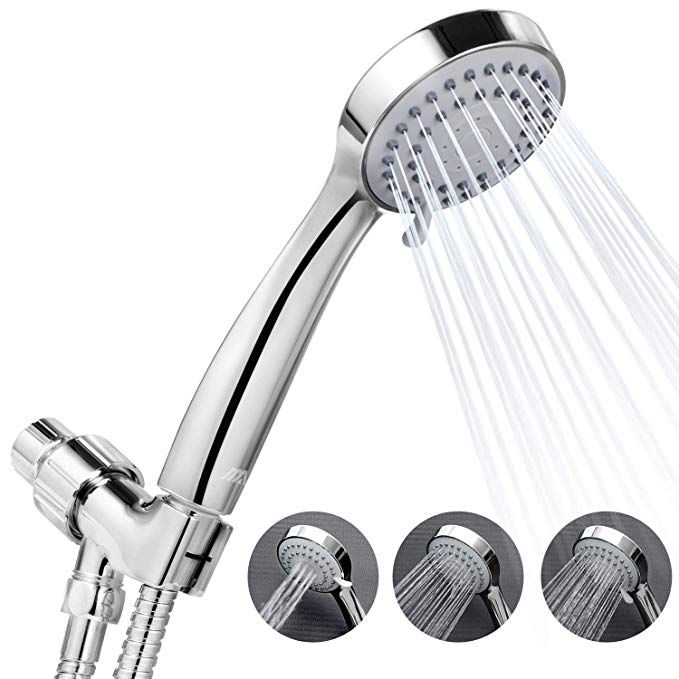 High Pressure Handheld Shower Head With Bathroom Accessories