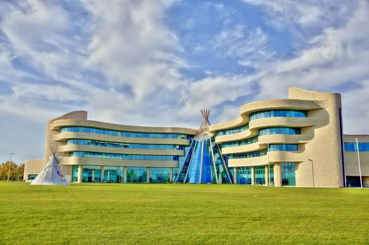 The Most Eye-Catching Campus Buildings In Canada - First Nations University of Canada's Regina Campus