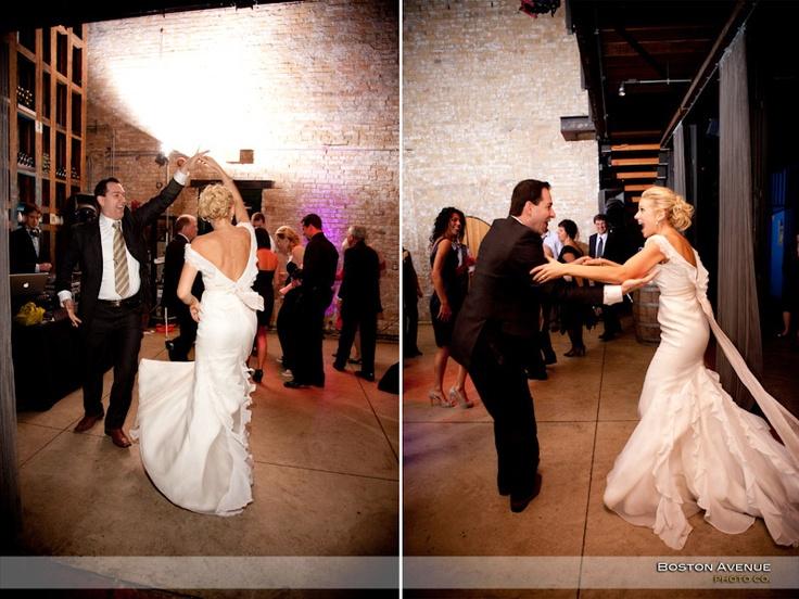 Boiler House wedding reception