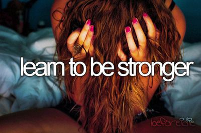 before i die.. learn to be stronger. #dream #bucketlist #strong