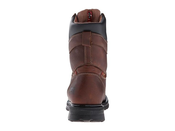 Timberland PRO Rigmaster 8 Waterproof Alloy Safety Toe Women's Work Boots Brown