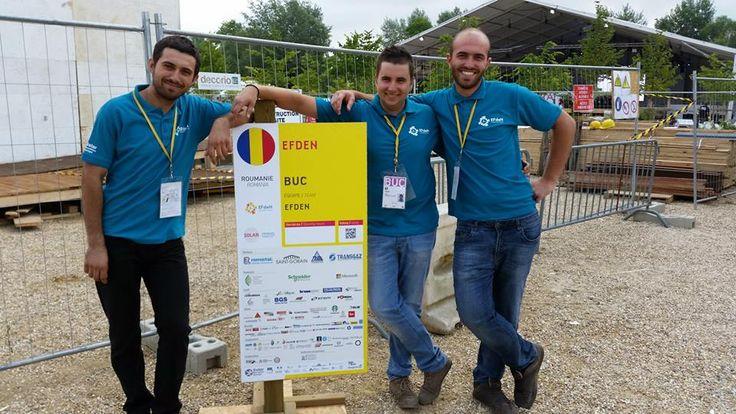 proud to represent Romania at Solar Decathlon Europe!