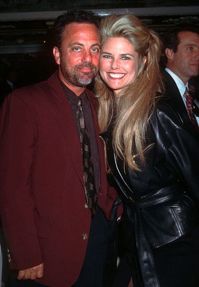 "Billy Joel and Christie Brinkley - The pair wed in March 1985 and had daughter Alexa a few months later. The actress and singer divorced in 1994. ""Billy's great,"" Brinkley told Ladies Home Journal. ""He's godfather to my kids, Jack and Sailor, and you know there have been times when I have had to spend time with lawyers or whatever and he's babysat. He lives nearby, so he's like, 'Send 'em over here!'"""