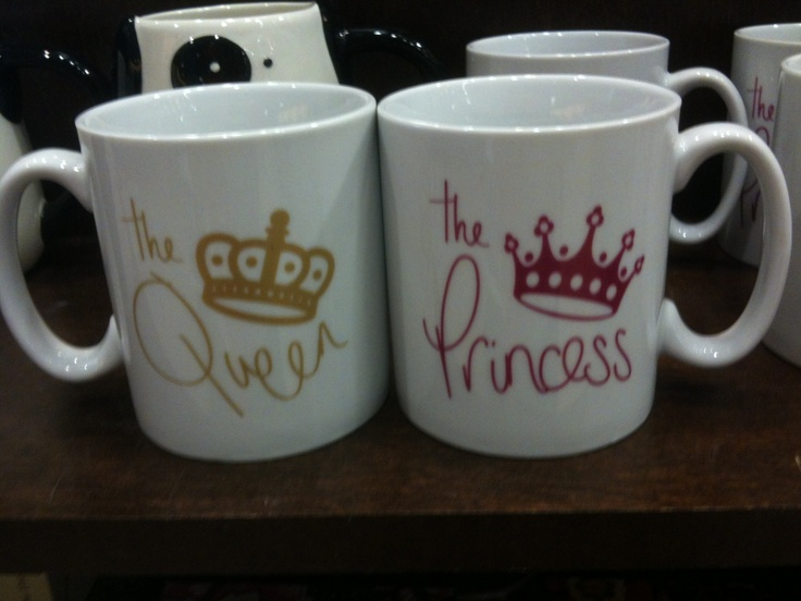 Cute coffee mugs from Barnes and Noble. Perfect for a