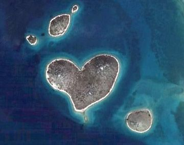 "Galesnjak, an island off Croatia's coast, became all the rage virtually overnight thanks to Google's Earth's aerial view of its perfectly heart-shaped mass. As the image went viral, so did its popularity. Currently, it is the go to place for wedding proposals, and romance-seekers. Galesnjak's new moniker: ""Lover's isle."""