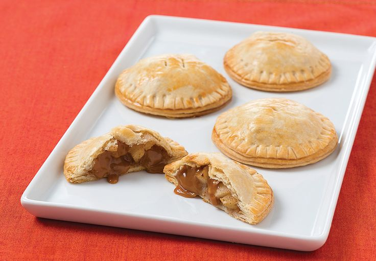 Apple Toffee Hand Pies Apples and MACK Toffee…it's easy as pie
