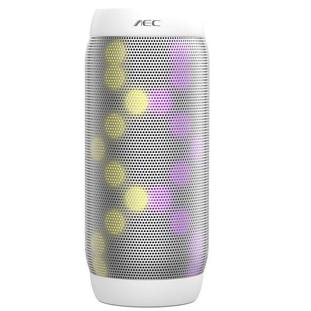 AEC BQ-615 PRO Colorful LED Lights Speaker Wireless Bluetooth HIFI Stereo Speaker Super Bass Soundbar Support NFC Mic FM Radio