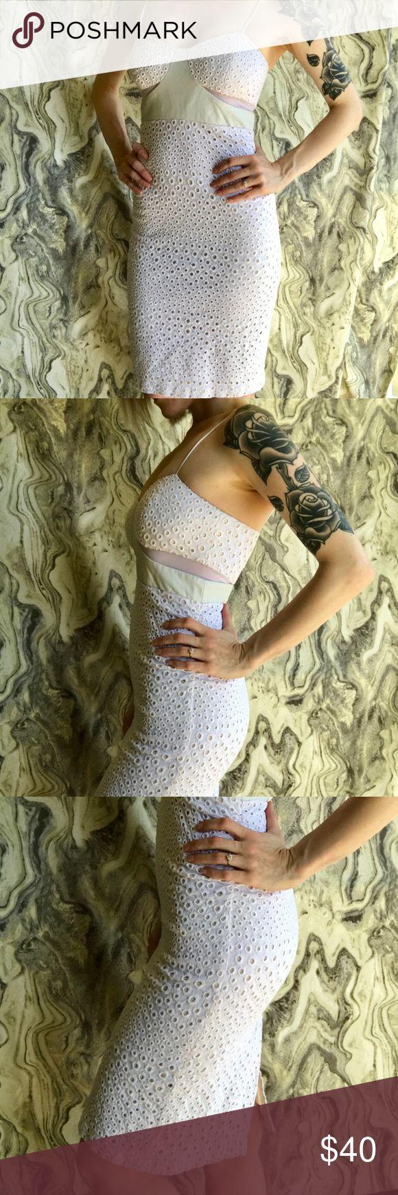 White Dress  NWOT The purrrrfect summer dress  zero flaws. Charlotte Ronson Dresses