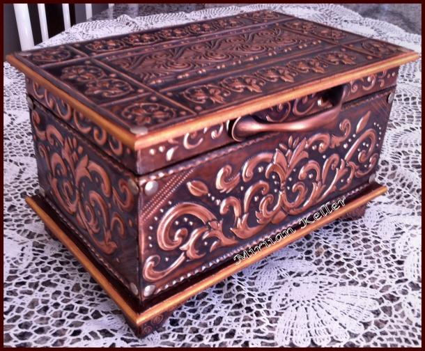 Metal utilizado: cobre  -  www.miriankeller.blogspot.com