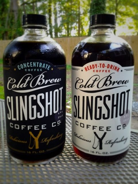 Slingshot Coffee, designed by Dapper Paper.