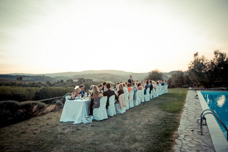 Perfect for Outdoor Weddings: Tuscany and the Chianti region offer the most beautiful wedding venues with breathtaking views