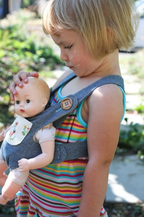 Baby doll carrier - great big sister gift