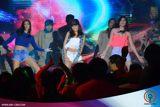 """This is Alex Gonzaga, Kathryn Bernardo, and Janella Salvador dancing to """"Watch Me (Whip/Nae-Nae"""" by Silentó during their production number for ASAP Supahdance during ASAP at ABS-CBN Studio 10 last June 28, 2015. Indeed, Alex, Kathryn, and Janella are my favourite Kapamilyas and they're amazing Star Magic talents and good dancers. #KathrynBernardo #TeenQueen #AlexGonzaga #IAmAlexG #JanellaSalvador #WatchMeWhipNaeNae #NaeNae #ASAP20"""