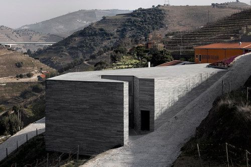 Quinta do Vallado Winery by Guedes + de Campos
