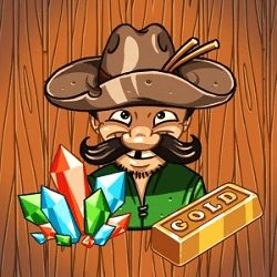 Tap spin to play. Pay out table shows winnings. Increase winning chances by increasing numbers of winning lines from 1-5. _Increase pay outs by increasing the bet from 1-10 credits. Collect chests and fortune wheels in any of the bet lines, to fill up the meter and get a chance at the mini games. Enjoy Gold Miner Slots.