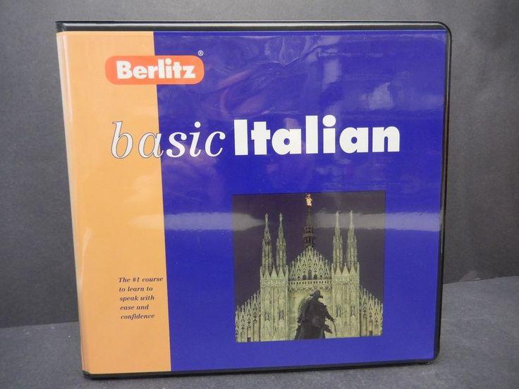 Berlitz Basic Italian Course  1996         3149  $12.97