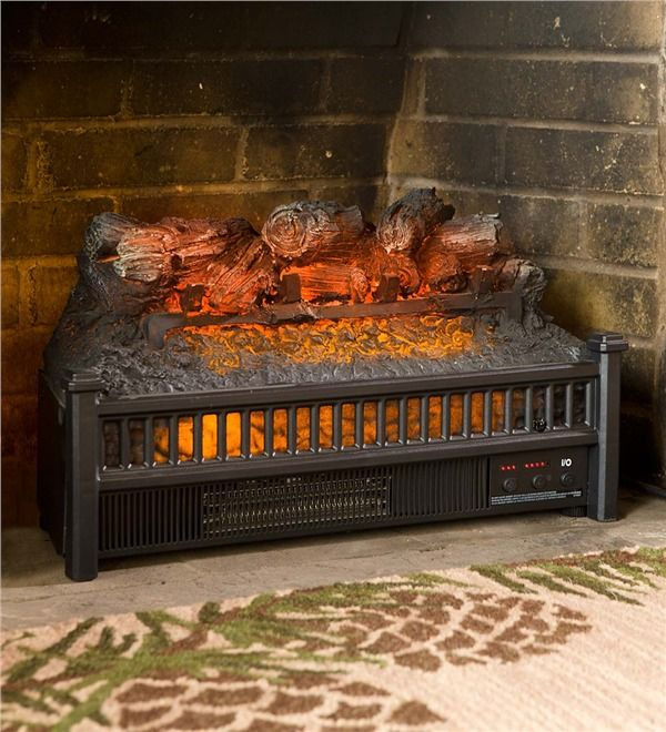 Best Faux Fireplaces Images On Pinterest Faux Fireplace - Electric logs for fireplace