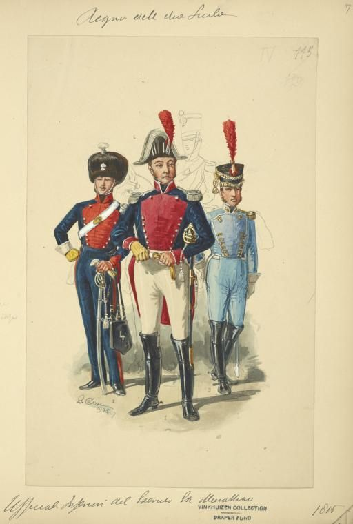 Kingdom of the Two Sicilies, 1815