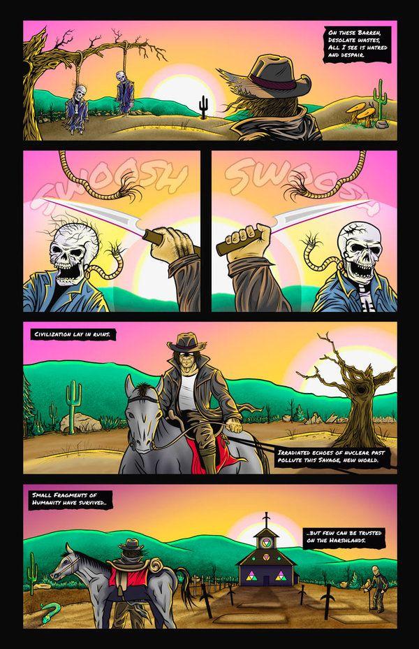 Chimpman-Z: Issue 1 - Page 1 by JesseGiffin on DeviantArt