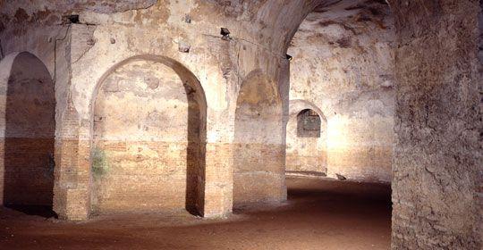 Excavation and restoration work - Villa di Massenzio