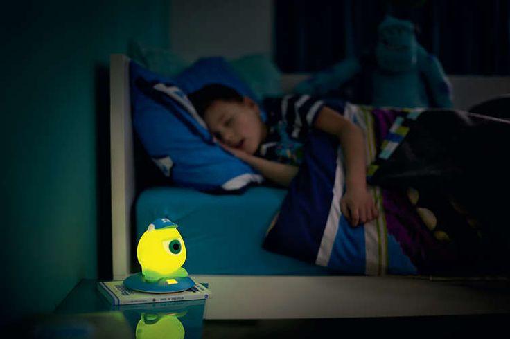 Lámpara de mesa Infantil LED Monstruos University - Mike Wazoski