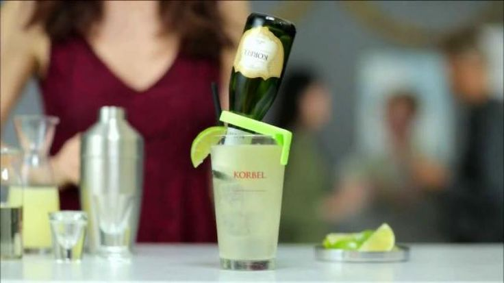 Add some bubbly to your holiday season when you enjoy the tasty Korbel Rita! With some simple ingredients like lime juice and syrup, you will make the best margarita yet. For this and other great recipes, visit FoodNetwork.com/HolidayCocktails.