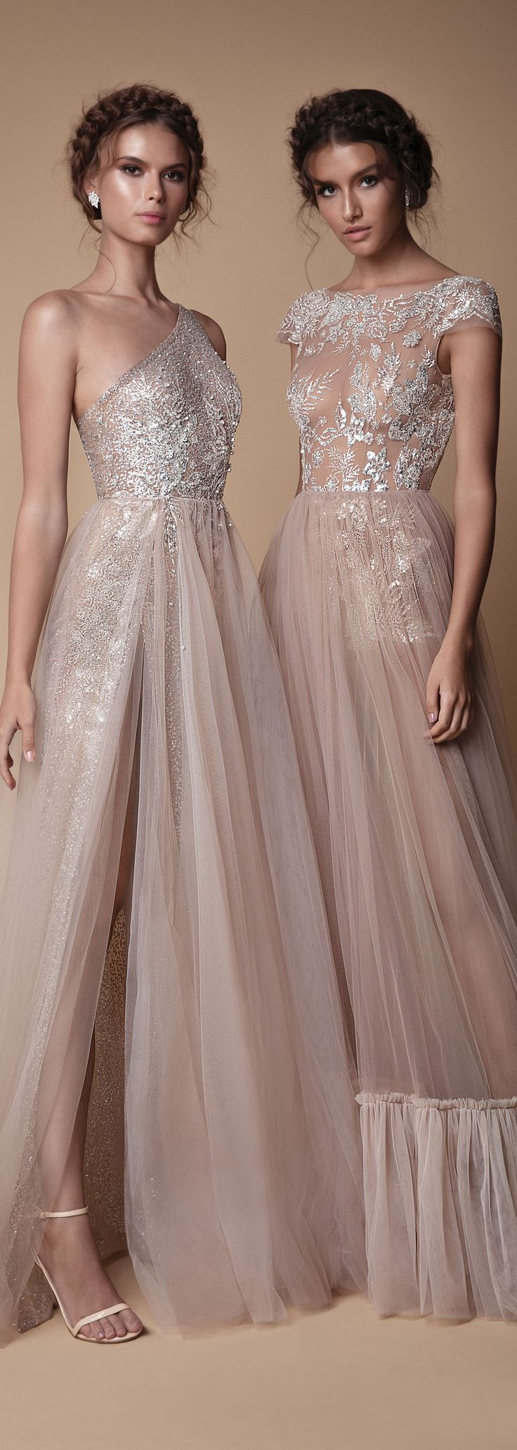 Shimmer, sparkle and sheer gorgeousness. The jaw dropping, new evening collection from @berta