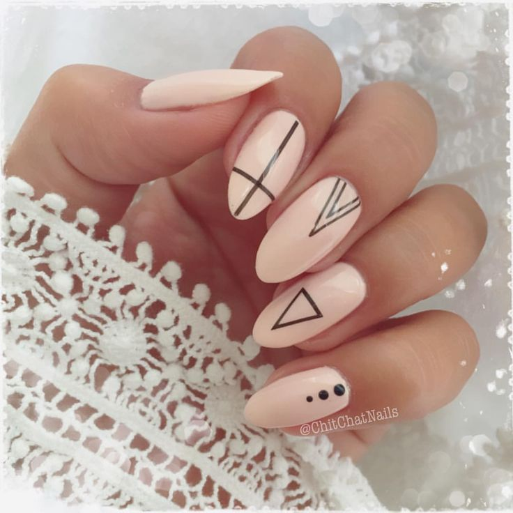 """111 Likes, 3 Comments - @chitchatnails on Instagram: """"This manicure is entirely inspired by a mani featured by @brunettefashionn_ . I had saved her look…"""""""