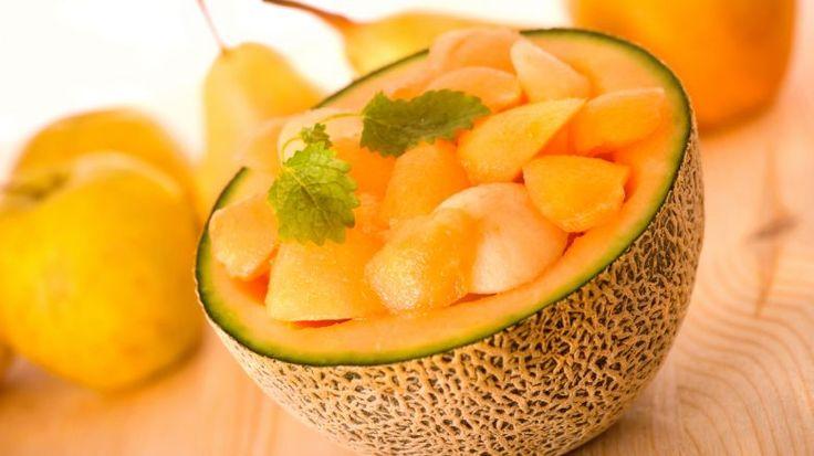 Melone, – cellulite   abbronzatura