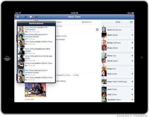 Yay!!  Finally FB releases a new iPad app.  Just played around with it this morning and love it.