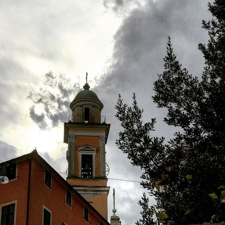 #pontedecimo #hometown #church #sky #sun