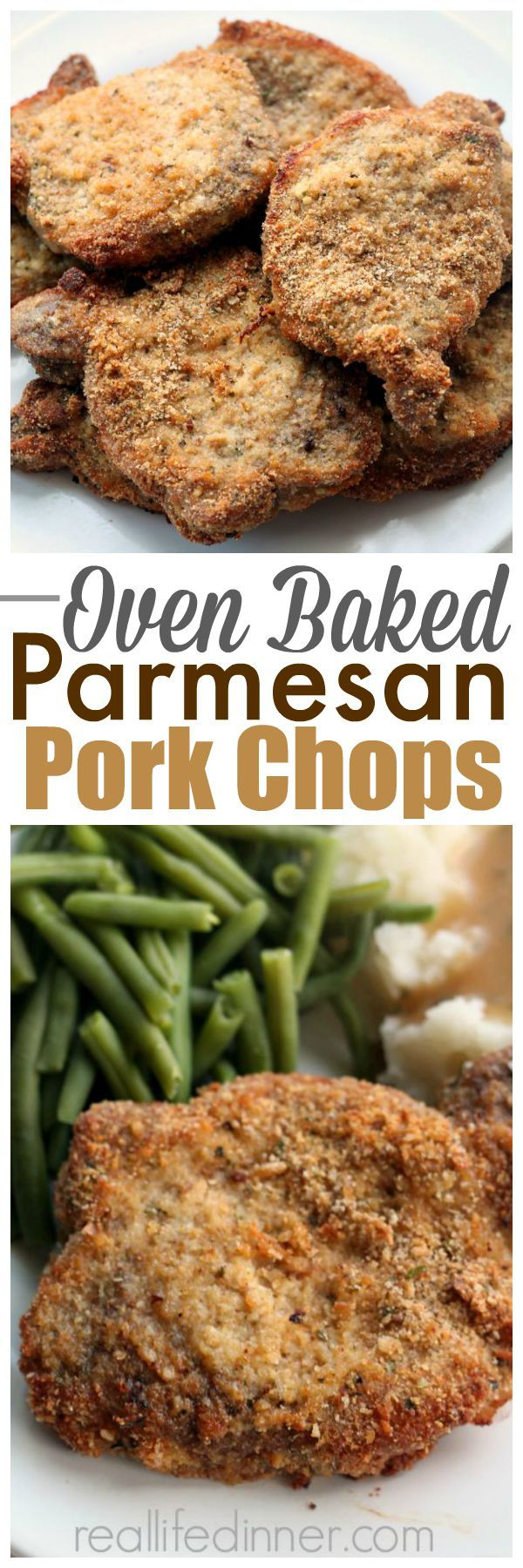 An easy dinner the family always raves about....Best Pork Chops Recipe ~ http://reallifedinner.com