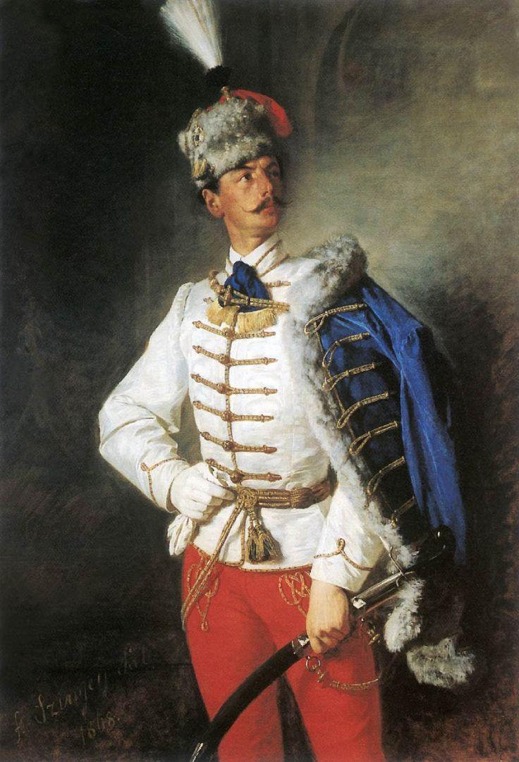 Portrait of Zsigmond Szinyei Merse by Pál Szinyei Merse