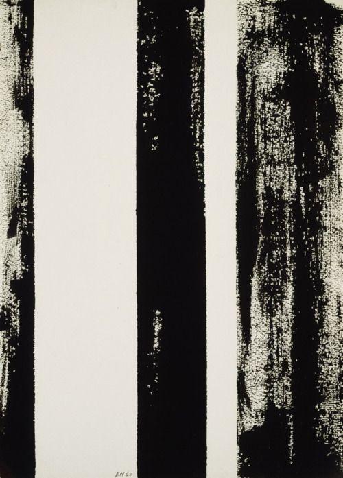 Barnett Newman, Untitled, 1960 Expresionismo Abstracto EEUU