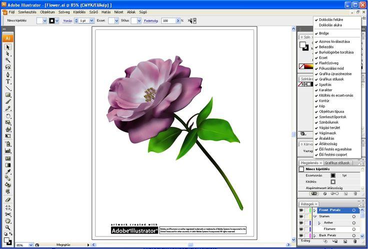 Illustrator CS3: Új felhasználói felület