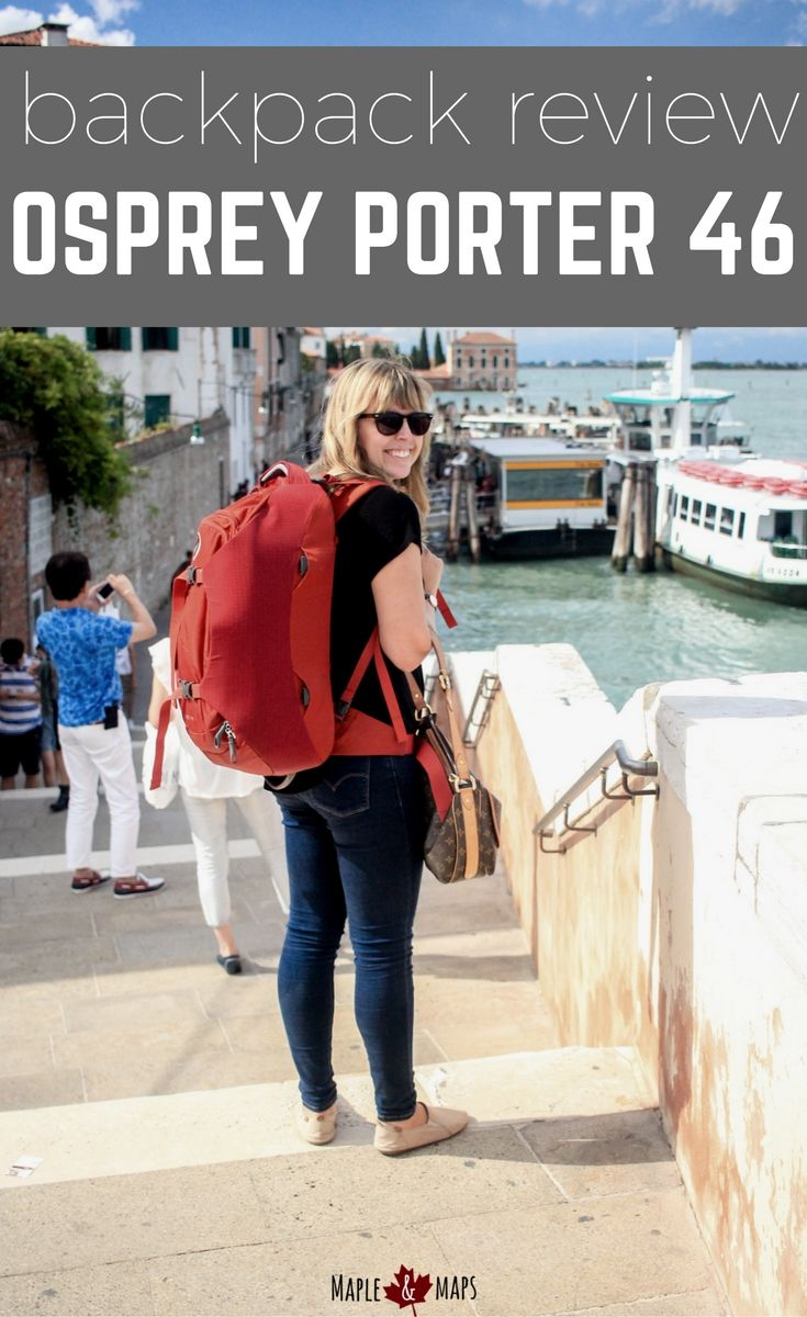 Pros and cons of the Osprey Porter 46L backpack