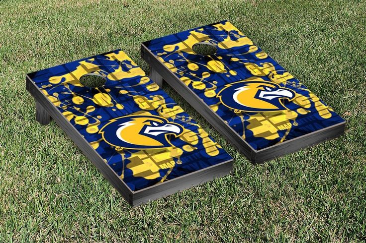 Marquette University Golden Eagles Fight Song Cornhole Toss Set