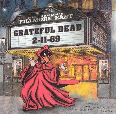 Grateful Dead - Live at Fillmore East 2-11-69 (CD)