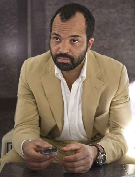 Jeffrey Wright (as Felix Leiter) wears a Hamilton Khaki X-Wind Automatic watch in Quantum of Solace