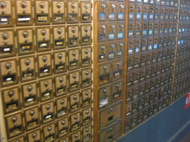 9 best post office things images on pinterest black white box cool post office boxes that was inside the stillwater general store at a contolle in solutioingenieria Choice Image