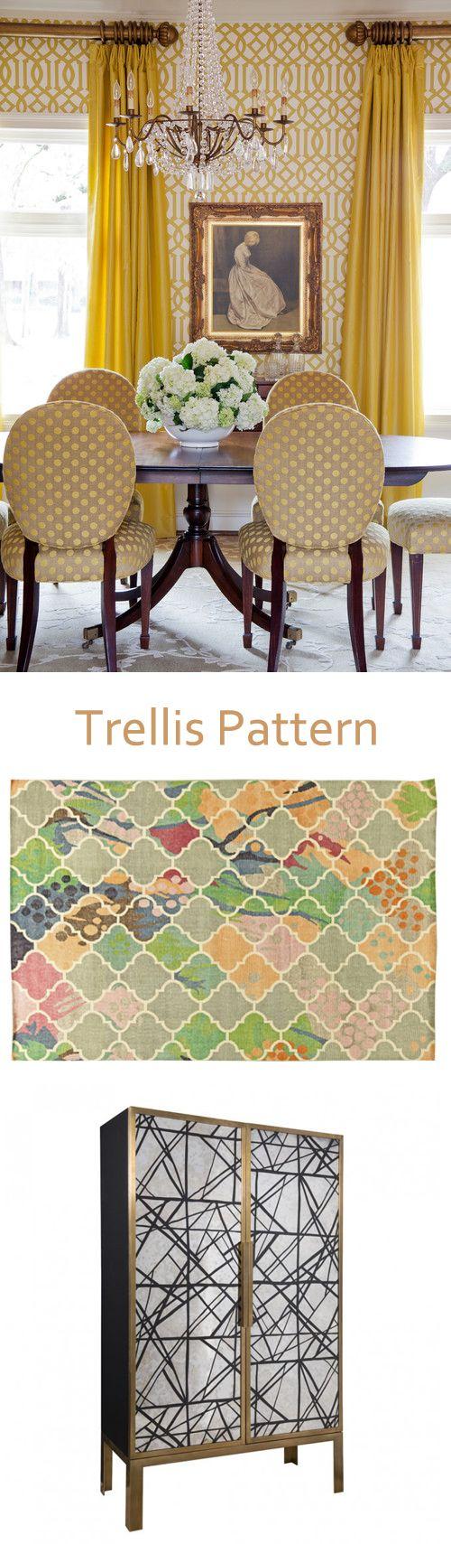 The Venerable Trellis Pattern at home