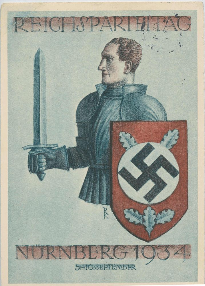 In The Light of Nazism,The Teutonic Knight ,  A Protector of The Arian Race ....