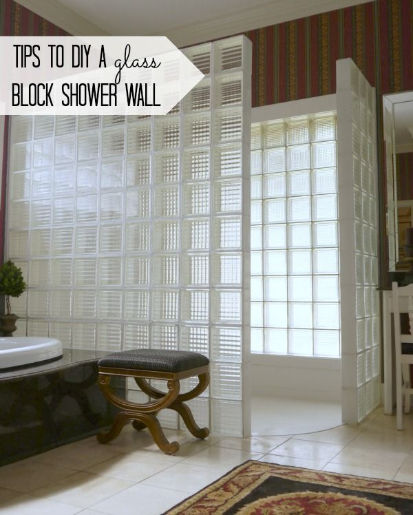 25 best ideas about glass block shower on pinterest - Glass bricks designs walls ...