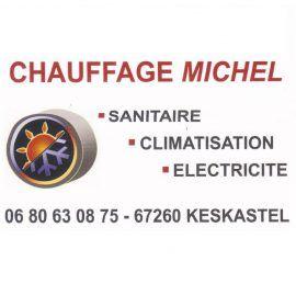 Chauffage Michel, sanitaire, climatisation, dépannage à Sarre-Union (67)