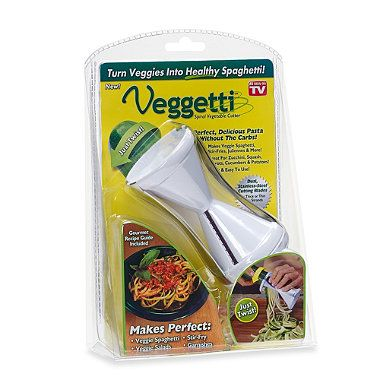 Veggetti™ Spiral Vegetable Cutter - love this thing already!