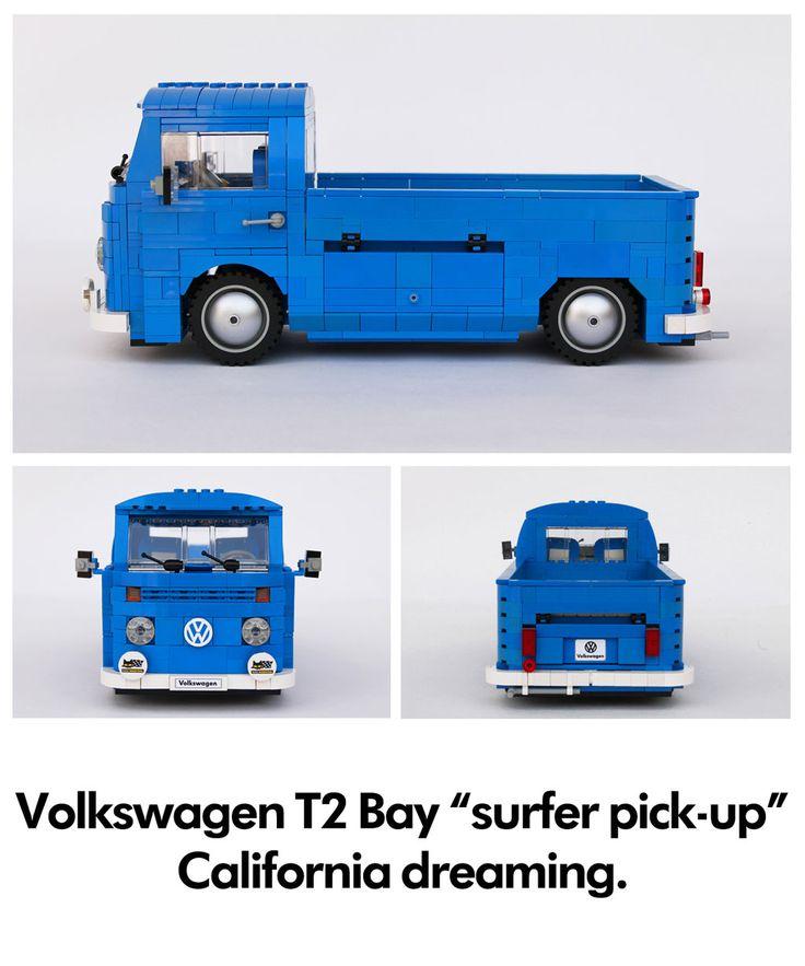 VW Combi Pick up en Lego | BeCombi