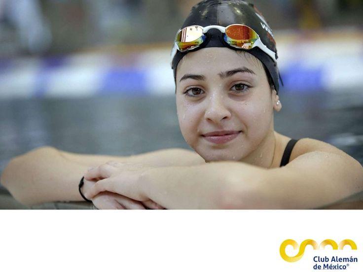 En el Club Alemán de México te hablamos de YusraMardini. EL MEJOR CLUB DEPORTIVO DE MÉXICO. YusraMardini nadadora siria de 17 años tuvo que huir de su país por la guerra;de Turquía escapó con 20 personas en un pequeño barco y antes de llegar a Grecia,comenzó a hundirse.Yusra y su hermana nadaron durante 4 horas jalando el bote a tierra firme. Yusra será la abanderada del equipo de refugiados que competirá en Río 2016. Te invitamos a practicar natación en el Club Alemán de México. #natacion