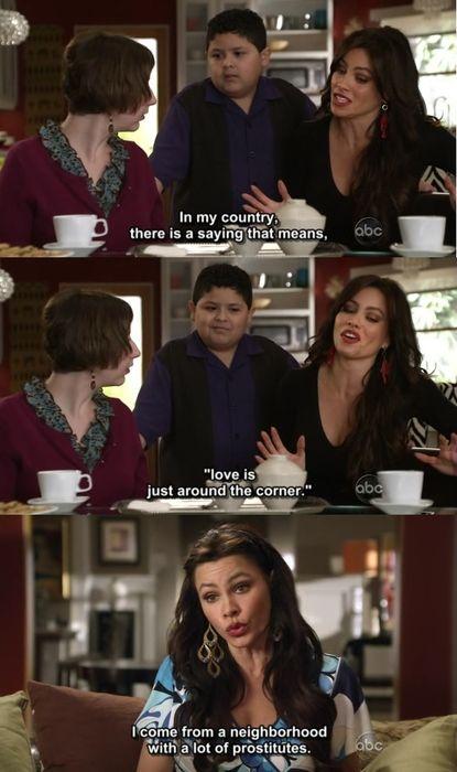 Modern Family - Gloria is hilarious!