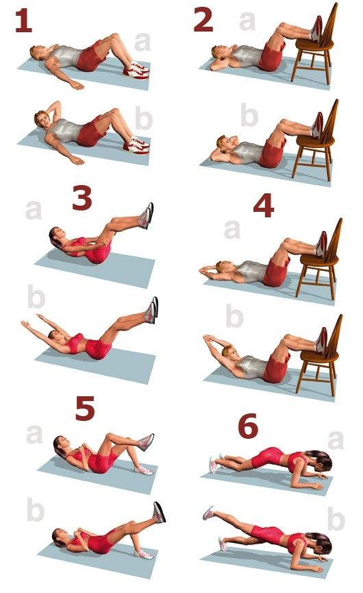 Para trabajar el abdomen