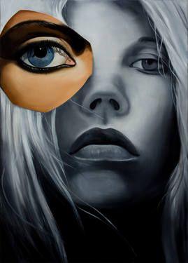 "Saatchi Art Artist Barbara Sipos; Painting, ""Kate 2"" #art"